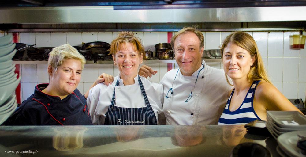 Μια βδομάδα στην κουζίνα με τον Γιάννη Μπαξεβάνη